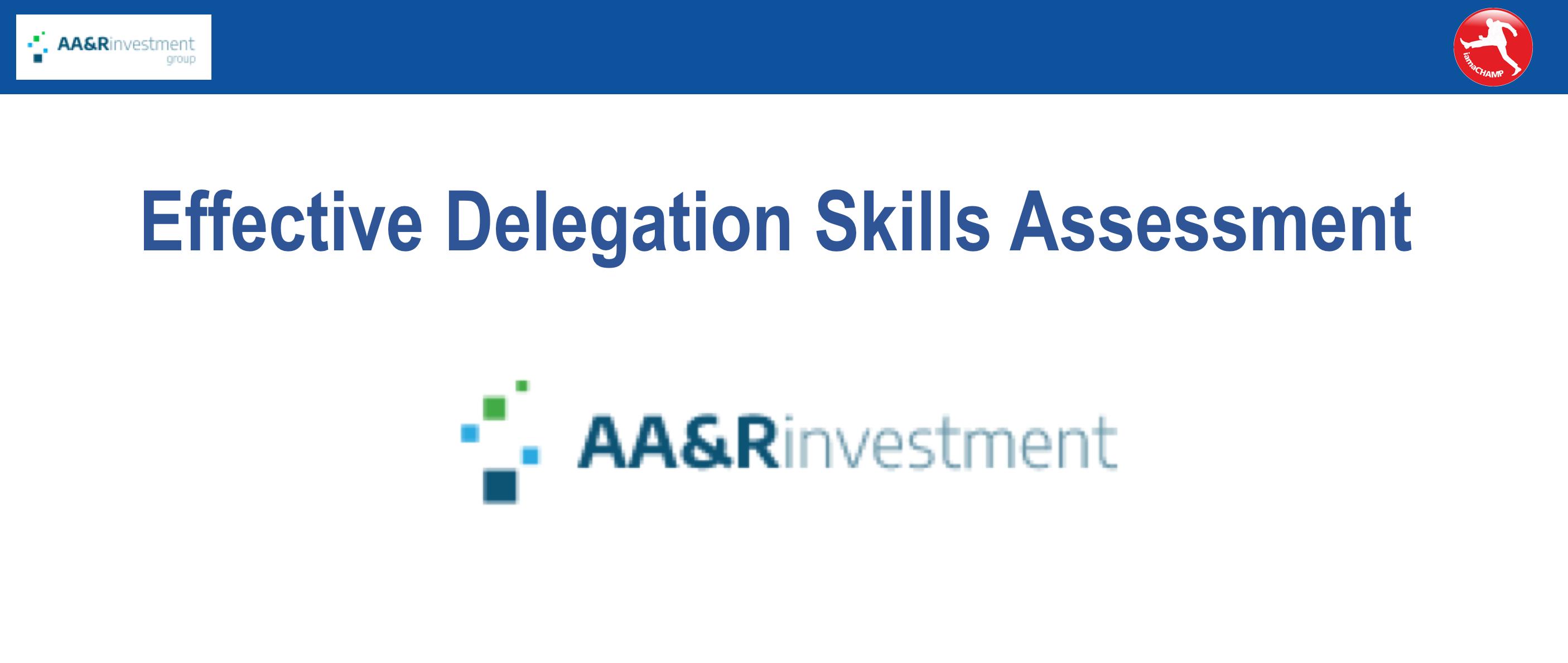 AAR Delegation