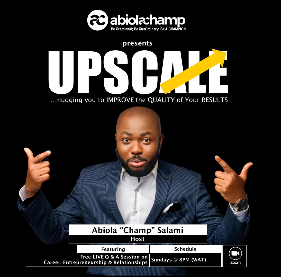 UPSCALE Website